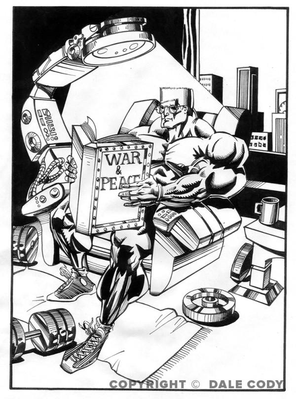 Capt Anabolic Comic